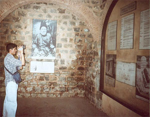 Me at Mirza Ghalib's Haveli, Old Delhi, Summer 2005